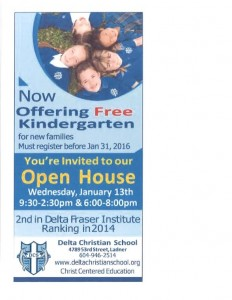Open House - Jan 2016-2